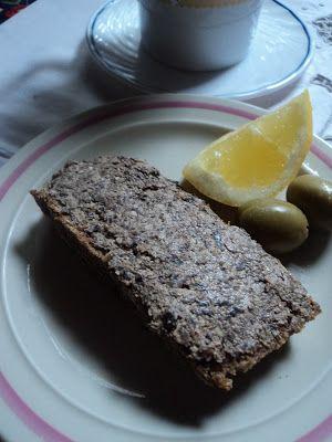 Intolerancija na hranu recepti / hrono.blogspot.com: Ovseni hleb & namaz od maslina i oraha