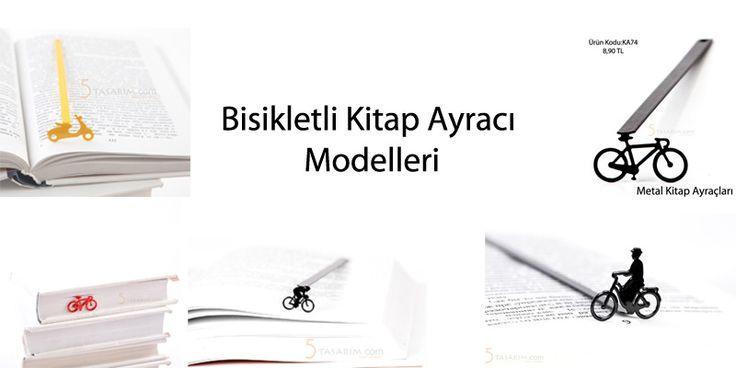 bisikletli kitap ayracı modelleri