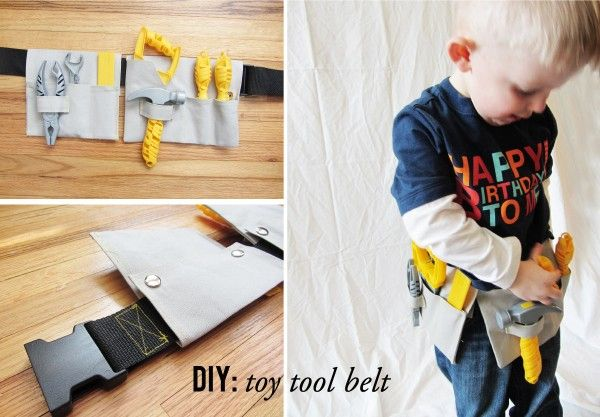 how to make a toy tool belt