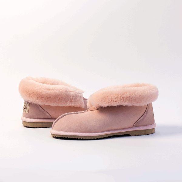 Pink UGG Slippers #pink  #sheepskin #ugg #boots #slippers #uggboots #australia #aussie #australian