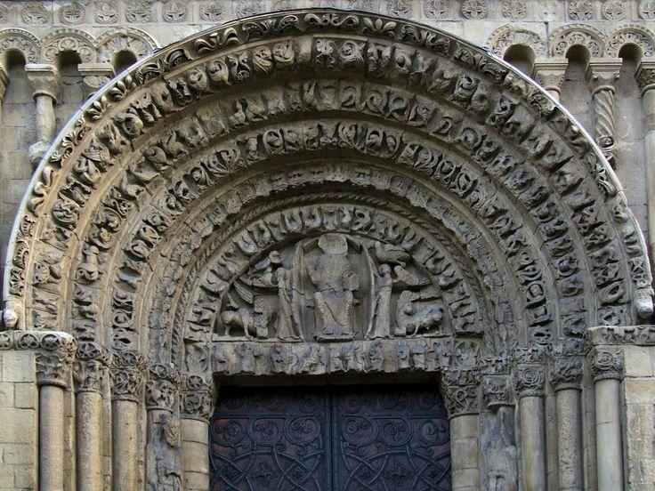Pórtico de la Catedral de Rachester (Inglaterra).