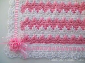 Plaid for newborn baby (Diagram and pictures, non-English site)