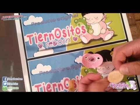 Como hacer un chupón para bebe Reborn/How to make a baby Reborn pacifier - YouTube