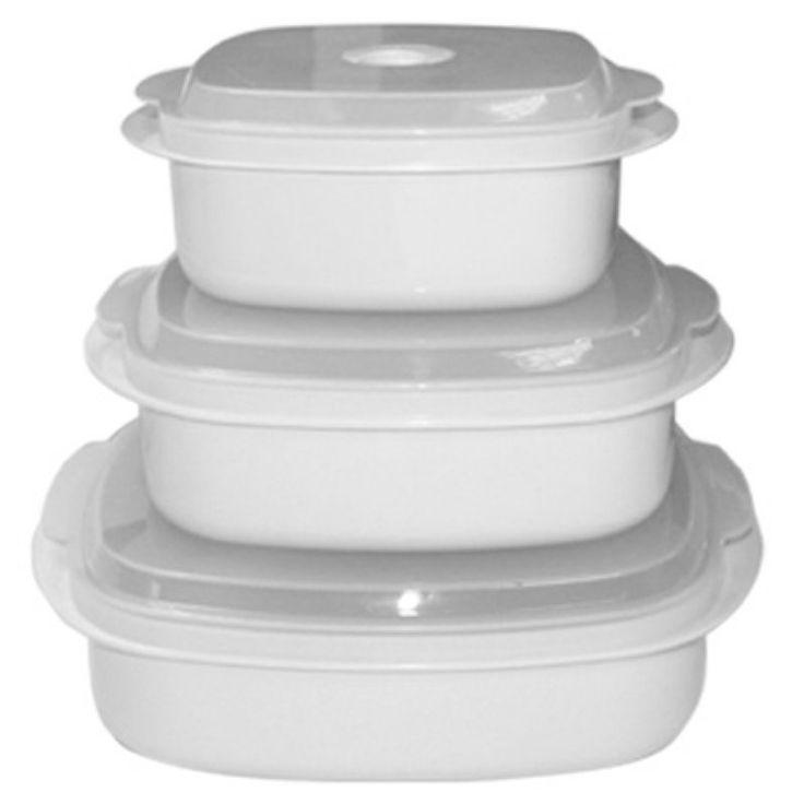 Reston Lloyd Microwave Steamer Set White - 20300