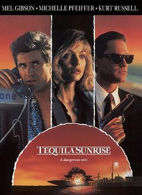 """Tequila Sunrise : 1988 - I even do not remember if I saw this movie.. I might..but I need to watch again to remember the story.. what I remember is the song, """"Surrender to Me"""", by Ann Wilson (lHeart) and Robin Zander (Cheap Trick).. still love the song."""