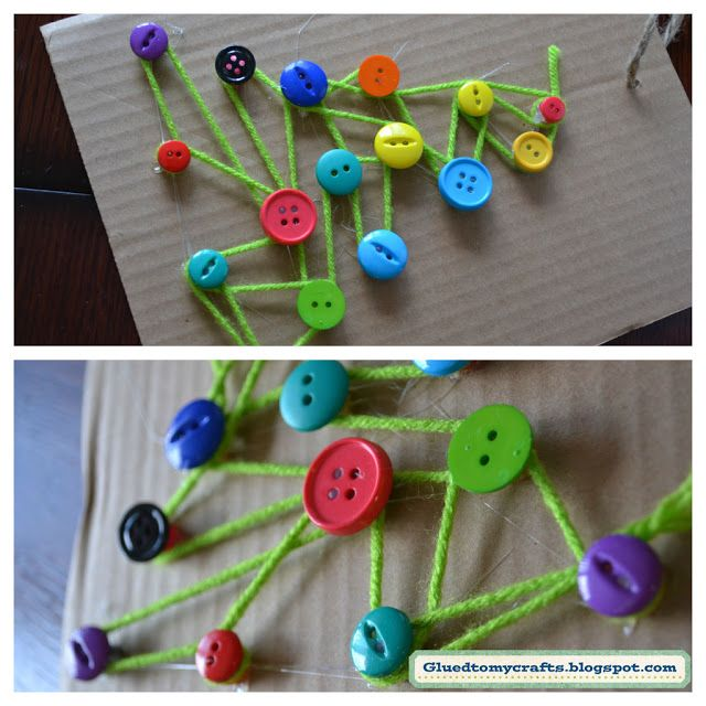 """String Art from Glued to my Crafts ("""",)"""