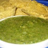 Moes Southwest Grill Recipes: Moe's Salsa Verde Recipe