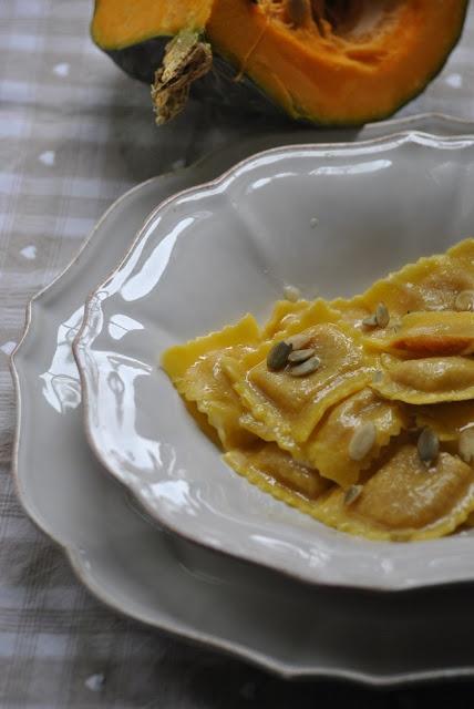 Tortelli di zucca e amaretti <3