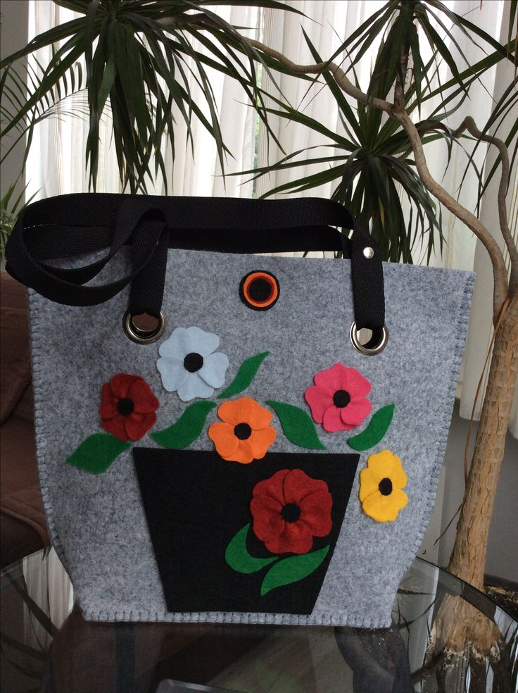 Felt bag shopper