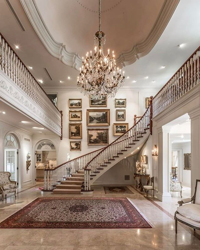 Beautiful Mansion Interior Pinterest: @entmillionaire