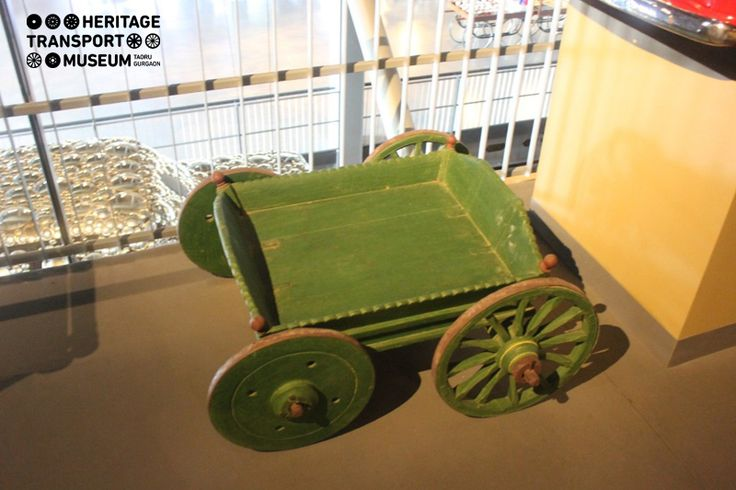Beautiful cart pulled by goat is part of Childhood nostalgia section of Museum, where one can evoke the memories of one's childhood days!