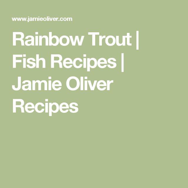 Rainbow Trout | Fish Recipes | Jamie Oliver Recipes