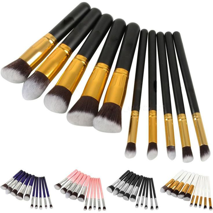 10/4PCS Professional Cosmetic Makeup Brush Brushes Set Powder Eyeshadow New JP #UnbrandedGeneric