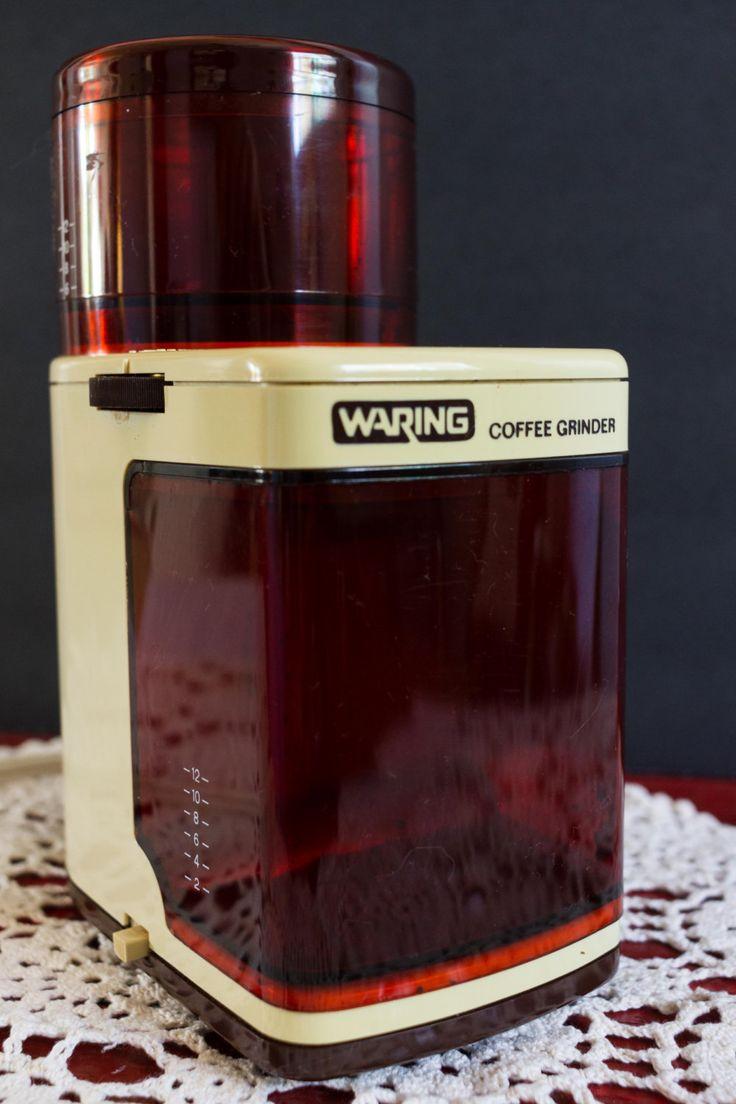 Vintage Waring Electric Burr Coffee Grinder , Product of Japan. by VintageExposure on Etsy