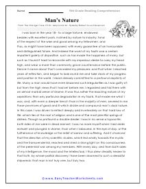 Grade 9 Reading Comprehension Worksheets (With images ...