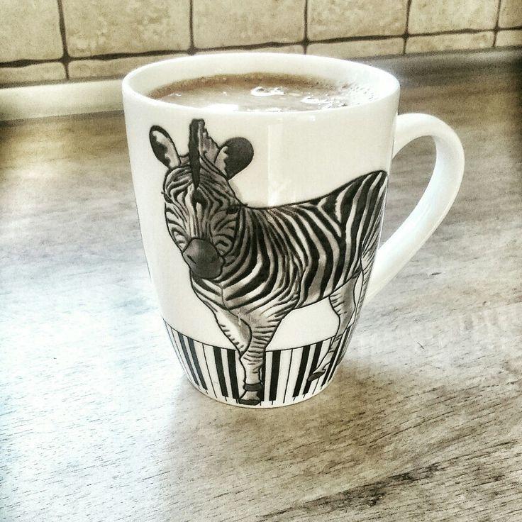 Zebra na kawie #zebra #coffee