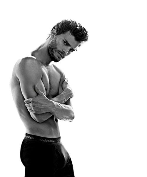 Calvin Klein-modellen Jamie Dornan ska spela Christian Grey i #FiftyShadesofGrey