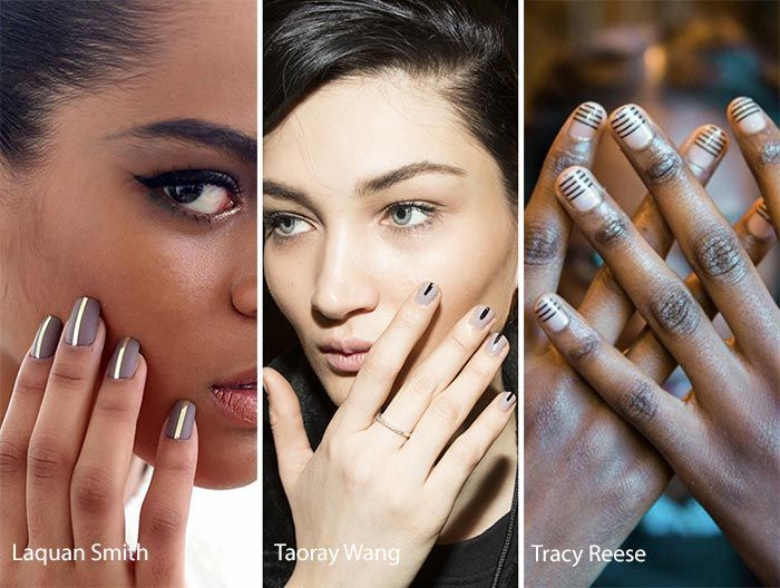 Fall/ Winter 2016-2017 Nail Trends: Lines on Nails