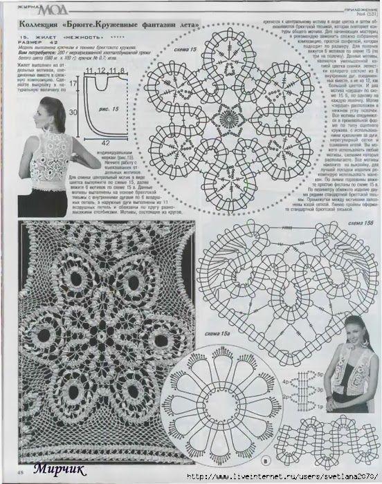 Veronica crochet y tricot...: Encaje de Brujas