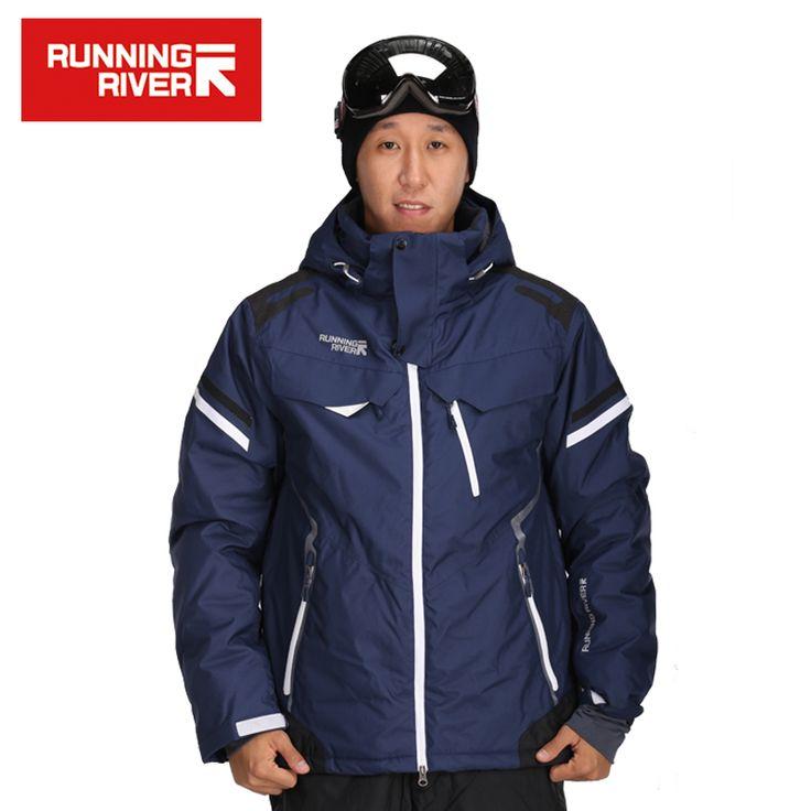 RUNNING RIVER Brand Men Ski Jackets Waterproof Windproof  S-3XL Winter Outdoor Ski Coat Men Gsou Snow Winter Jacket Ski #J3160 #Affiliate