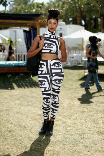 Vogue Netherlands photographed Kesh wearing a few of her collaboration pieces with American Apparel at Coachella this past weekend.  #Kesh #americanapparel #coachella