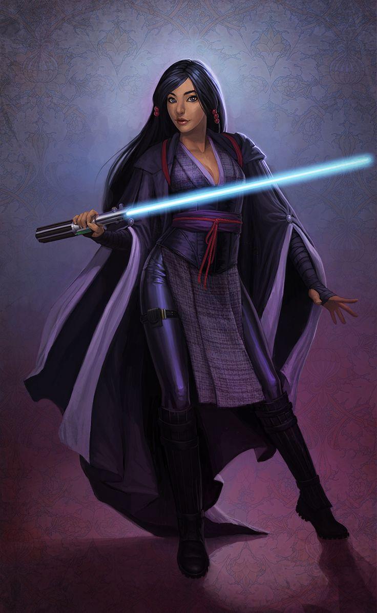 Star Wars Female Sexy-Jedi Knight Aayla Secura by Adam ...