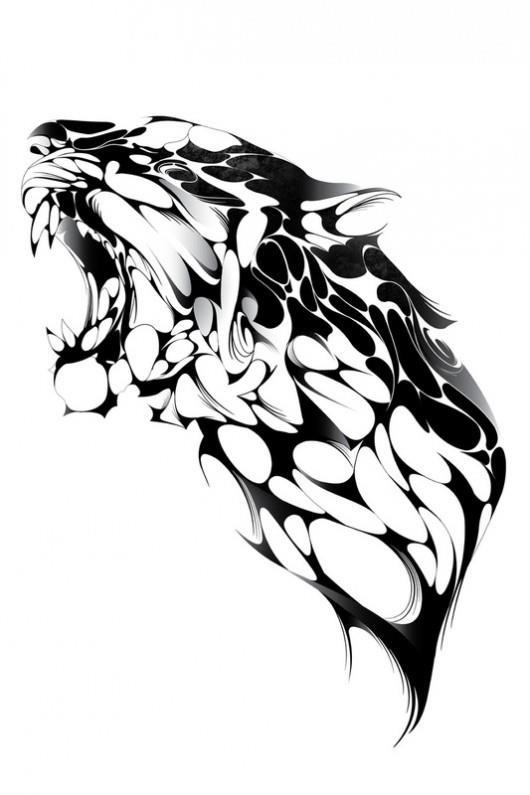 40 best images about sketchbook inspiration on pinterest for Panther tiger tattoo
