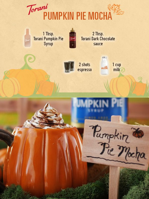 ... we didn't like - and this Pumpkin Pie Mocha will be loved by everyone