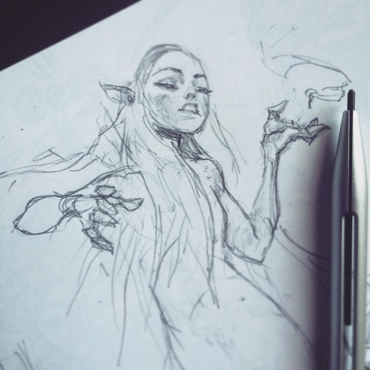 Sketches, by Ahmed Aldoori. : Photo