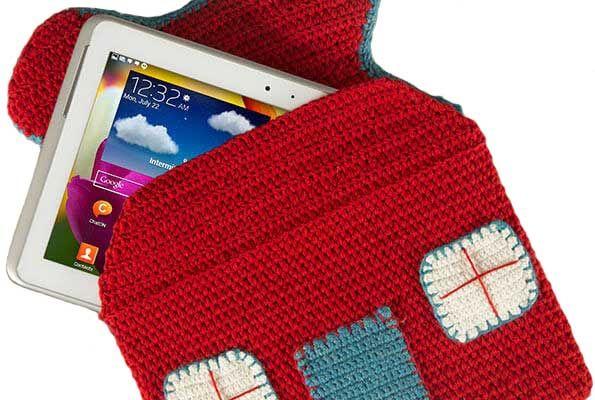 Amigurumi Kırmızı Tablet Kılıfı Yapımı - http://m-visible.com/amigurumi-kirmizi-tablet-kilifi-yapimi.html