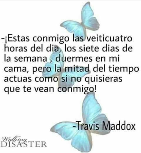 #Maravilloso #Inevitable #Desastre #Travis #Libro #Frases
