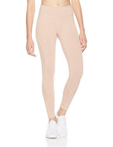 b96c77ccd4c80c 7Goals Women's Stretchy High-Waist Yoga Mesh Legging with Inner Pockets