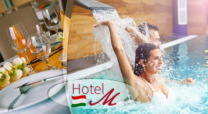 Hungarospa - najväčší kúpeľný komplex v Európe a ubytovanie v 4* Wellness Hotel-M v Hajdúszoboszló