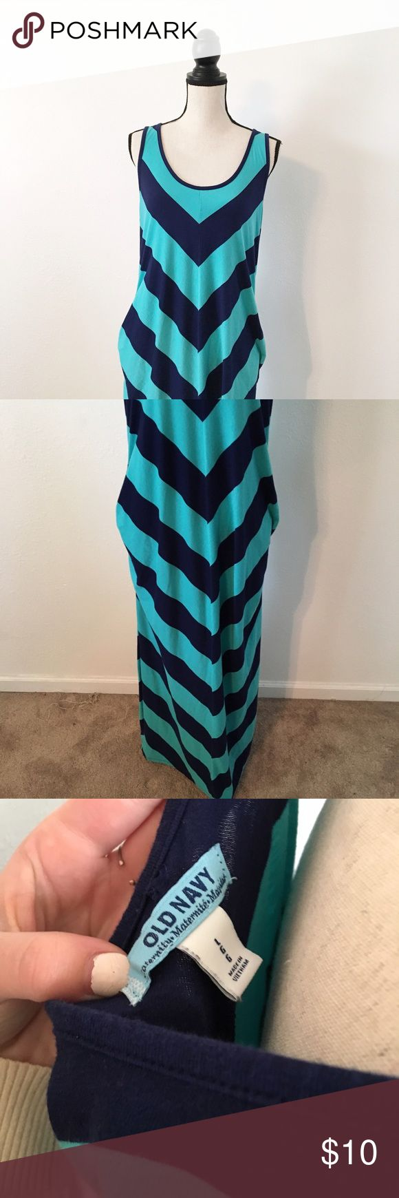 Old Navy Maternity Dress NwOT Never worn! Super cute. Old Navy Dresses Maxi
