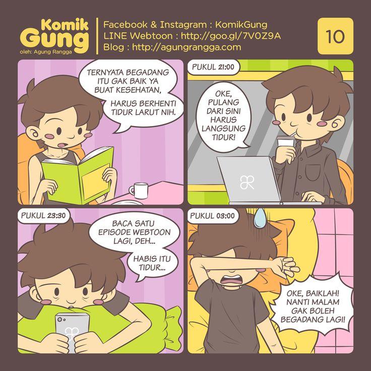 Komik – Yap, begadang memang tiada artinya~ #yousingyoulose Pas kuliah padahal…