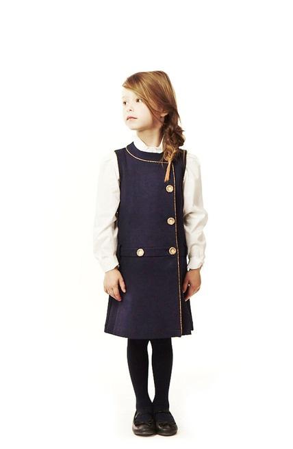 Inspiration for school uniform dresses