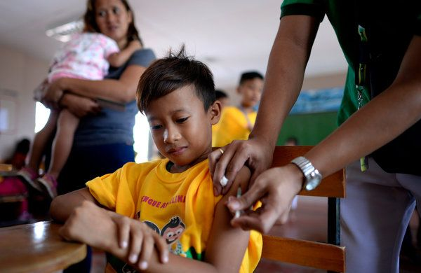Philippines Suspends Dengue Shots After Drug Firms Warning