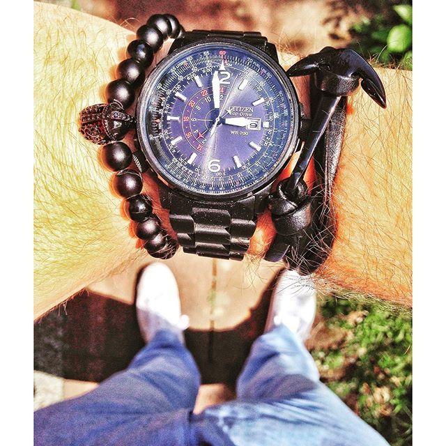 Miejski luz z #Citizen #watch. # #CitizenWatch ##watch #watchaddict #black #blue #zegarek #style #fashion #butiki #swiss #butikiswiss #dlaniego