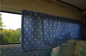 How to Make Camper Curtains