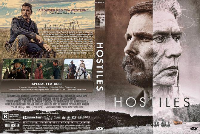 Hostiles Dvd Custom Cover