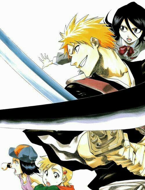 Ichigo & Rukia - Bleach