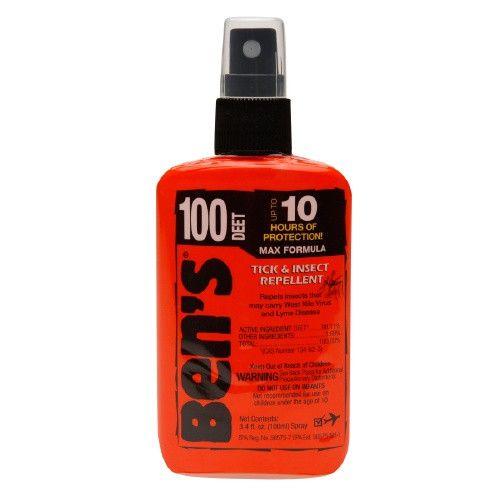 Ben's Deet 100 Tick & Insect Repellent