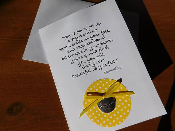 Beautiful Birthday Greeting Card Carole King