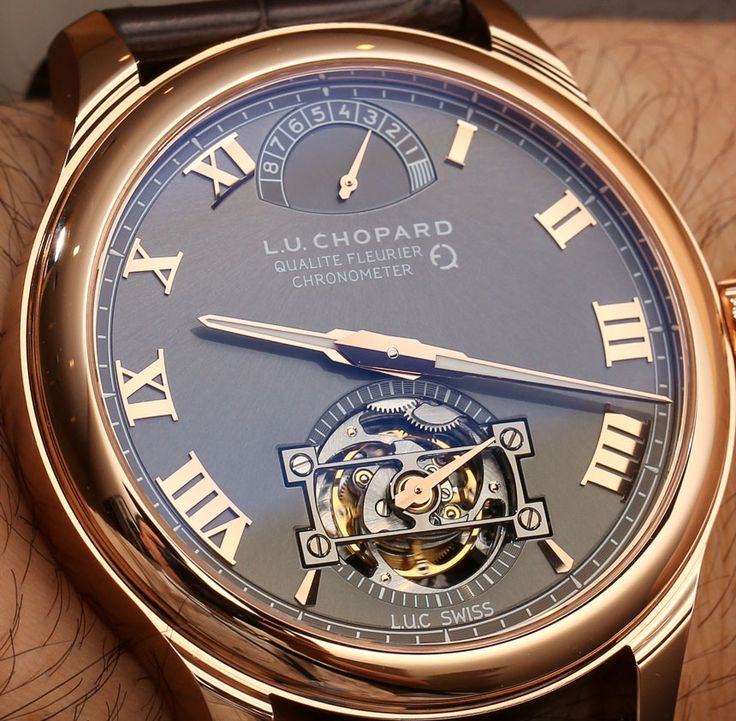 """Chopard L.U.C Tourbillon Qualite Fleurier Watch With Fairmined Gold Hands-On - by Vicky Van Halem - """"At Baselworld 2014, Chopard scored altruistic points with the release of a dashing Chopard L.U.C Tourbillon QF timepiece crafted from Fairmined Gold...The Chopard L.U.C Tourbillon is the first timepiece to use this type of gold, which is meant to be a more socially conscious gold in regard to how it was mined..."""""""