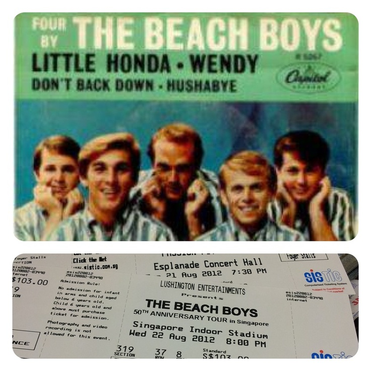 The Beach Boys 50th Anniversary Concert , Singapore Indoor Stadium 2012