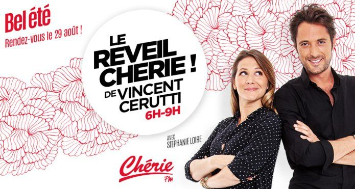 Le Réveil Chérie de Vincent Cerutti - Bel été avec Chérie Fm