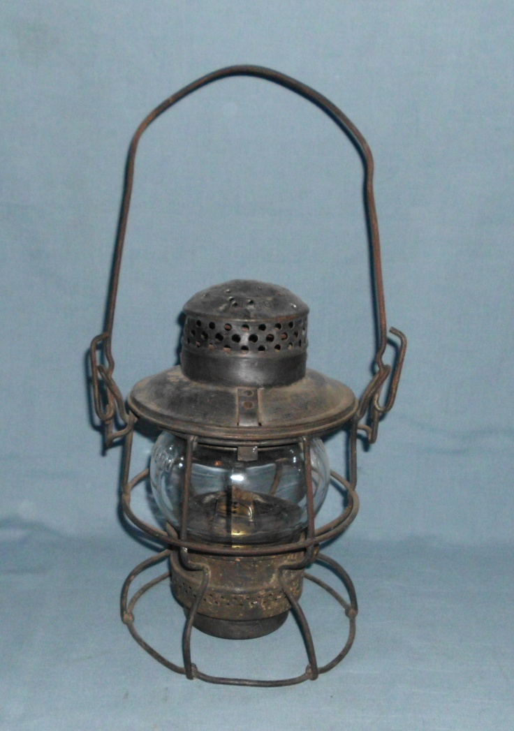 Antique Adlake Kero Kerosene Railroad Lantern Northern