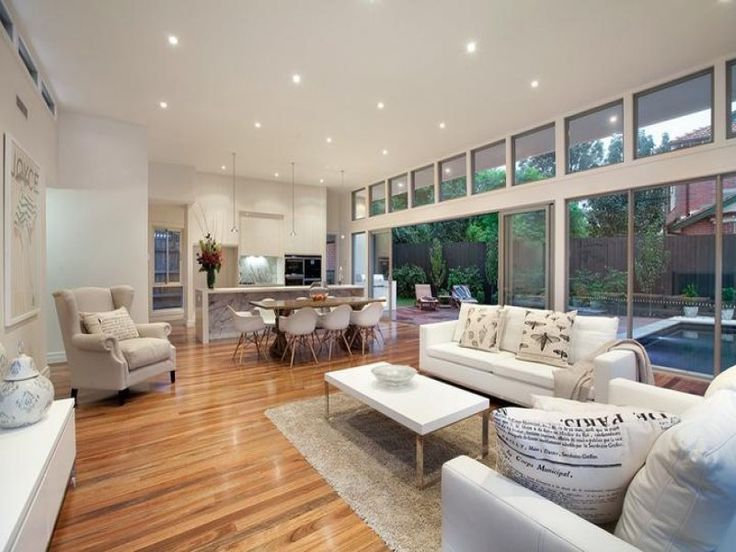 White living room idea from a real Australian home - Living Area photo 158203