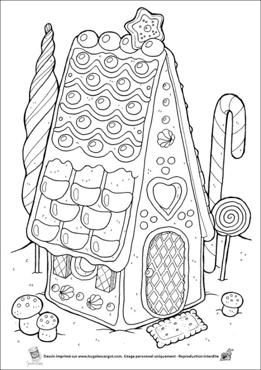 1073 best contes images on Pinterest Aprons, History and Little red - dessin de maison a imprimer