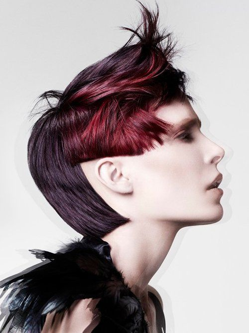 Astonishing 1000 Ideas About Short Punk Hairstyles On Pinterest Buzz Cut Hairstyles For Men Maxibearus